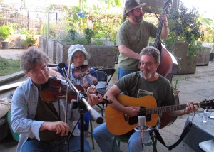 The great band: Frank Hoppe, Katy Croshier, Joe Wack, Larry Ullman, Steve Lewis