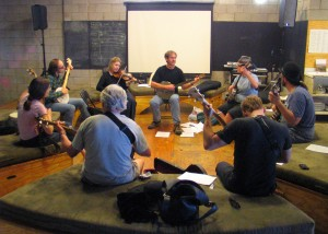 Steve Lewis a banjo workshop